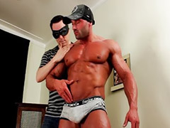 Masked, Hot muscular, Mask, Max, Gay man masturbation, Sex got