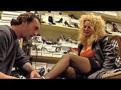 Shoe fuck, Schiavo, Salesman, Shoe fucking, Euro milfs, Fuck shoe