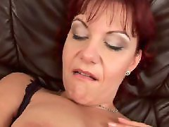 Mature masturbation, Big clit, Milf, Big boobs