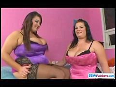 Lesbian, Chubby, Fat, British, Lesbians, Lesbian pussy licking