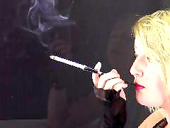 Harper, Black voyeur, Cigarette holder, Voyeur black, Glove ,, Black-brunette