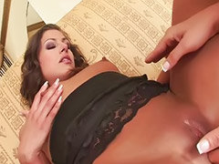Stockings anal, Threesome anal, Swapping anal, Stocking cum, Anal licking, Swap