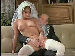 German, Retro, Bride, Ilm, Film, German hot