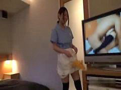Asian, Maid, Hotel