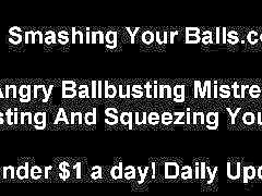 Pov femdom, Squeezing balls, Squeeze bdsm, Spanked balls, Femdom pov, Femdom bdsm