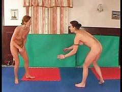 Wrestling, Lesbian