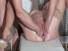 Fisting, Fist, Wife, Pissing, Orgasm