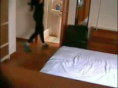 Hidden cam, Hotel, Naked