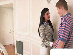 Teen, Caught, Stepmom