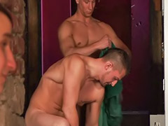 Gay, Rimming, Foursome, Bareback, Anal bareback, Gay blowjobs