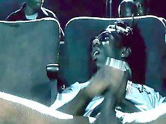 Asiaticos follando, Follando en el cinema, En la sala de cine follando, Cine, Asiático