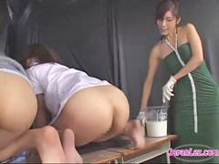 Enema, Teacher, Spanking