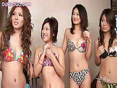 Asian, Sex party, Asian group girls, Group sex, Madely, Asian party girls