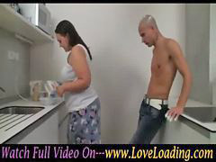 Bbw, Kitchen, In kitchen, Kit, Kitchen bbw, Wild in