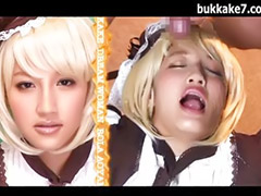 Japanese, Japan, Asia porn, Cosplay, Asian bukkake, Gangbang bukkake
