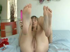 Foot, Foot fetish, Masturbation