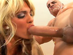 Taking huge cock, Milf huge, Huge milf, Huge blonde, Blonde huge, Stunning blonde