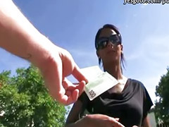 Cash, Public blowjob, Isabella, Public cash, Amateur public, Sex for cash