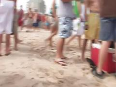 Beach public, Beach girls, T-girl party, Public party, Public girl, Party public