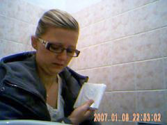 Toilet, Spy, Young girl