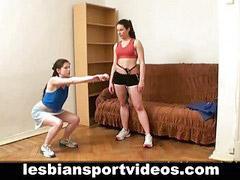Nude, Sport, Nude sport, Lesbians sport, Sportes, Sport sport