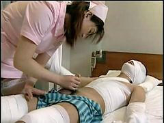 Japanese, Nurse, Nurse japanese, Therapys, Therapis, Sex therapy