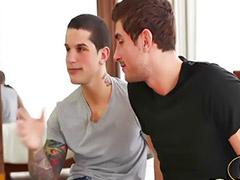 양성, 양성ㅇ•ㅇ, 문신커플, 게이 오럴 정액, 게이 질내사정, 꼬추큰 게이