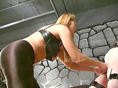 Ballbusting, Catsuit, Catsuite, Ballbuster, Serious, Seriously