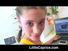 Little caprice, Caprice, Laptop, Fooling around, Fooled, Capriceç