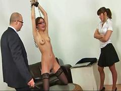 Threesome, Spank, Secretary