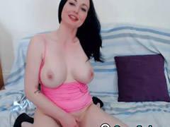 Webcam anal, Webcam brunette, Nature anal, Titty fucking, Webcam tits, Big tits solo