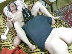 Granny, Horny granny, Mature granny, Horny mature, Horny couple, Granny lick