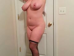 Tease stocking, Stocking tease, Heels stockings, Tits tease, Teasing stocking, Tease tits