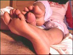 Feet foot, Amateur german, Ref, Footjob amateur, Barefeet, Amateur footjob