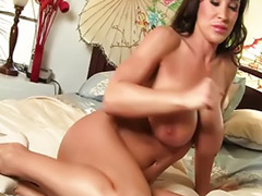 Masturbation, Lisa ann, Milf, Big ass, Ass, Shaving