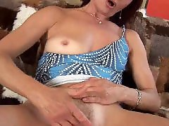 Mature masturbation, Granny