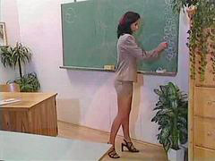 Teacher, Teacher,, Nails, Tight, In ass, In classroom