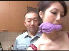 Japanese, Creampie, Forced, Japanese wife, Japanese blowjob, Force