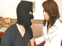 Japanese, Hairy brunette, Hairy vagina, Japanese wife , Hairy japanese, Robber