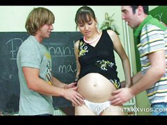Pregnant, Guy, Pregnant x, Two with, Two slut, Two pregnant
