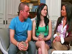 Jenna ross, Veronica, Threesome horny, Milf horny, J ross, Horny veronica