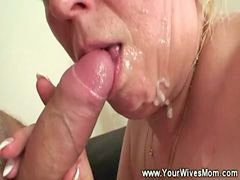Mature, Facial, You g, Facials, Matures, Younger