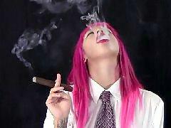 Puse cigaru, Pušenje cigare