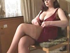 Mature, Big tits, Striptease, Panties, Matures, Play