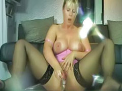 Mature, Mature masturbation, Milf, Squirt, Milf solo, German mature