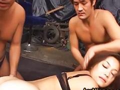 Japanese, Yuka matsushita, Yuka, Japanese threesome, Vagina fuck, Vagina asian
