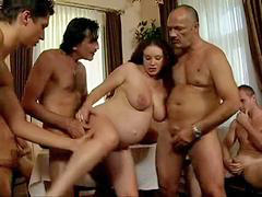 Gangbang, Daughter, Pregnant, Dad