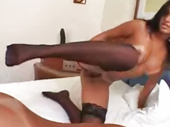 Stockings anal, Carol b, Threesome anal, Stocking cum, Usa sex, Anal black