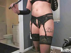 Toilet, Toilet slavery, Slave black, Blonds black, Blonde slave, Blonde dominatrix