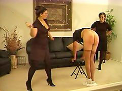 Caning, Caned, F-m caning, Canings, Two lady, Two ladies